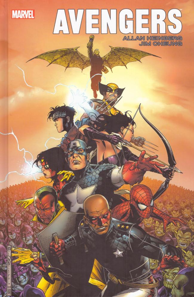 Couverture de Avengers (Marvel Icons) -HS1- Avengers - Allan Heinberg - Jim Cheung