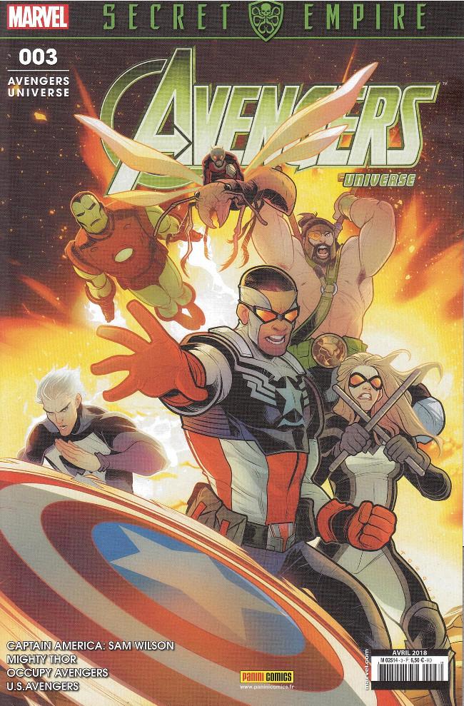 Couverture de Avengers Universe (2e série - 2017) -3- Qui mérite Captain America