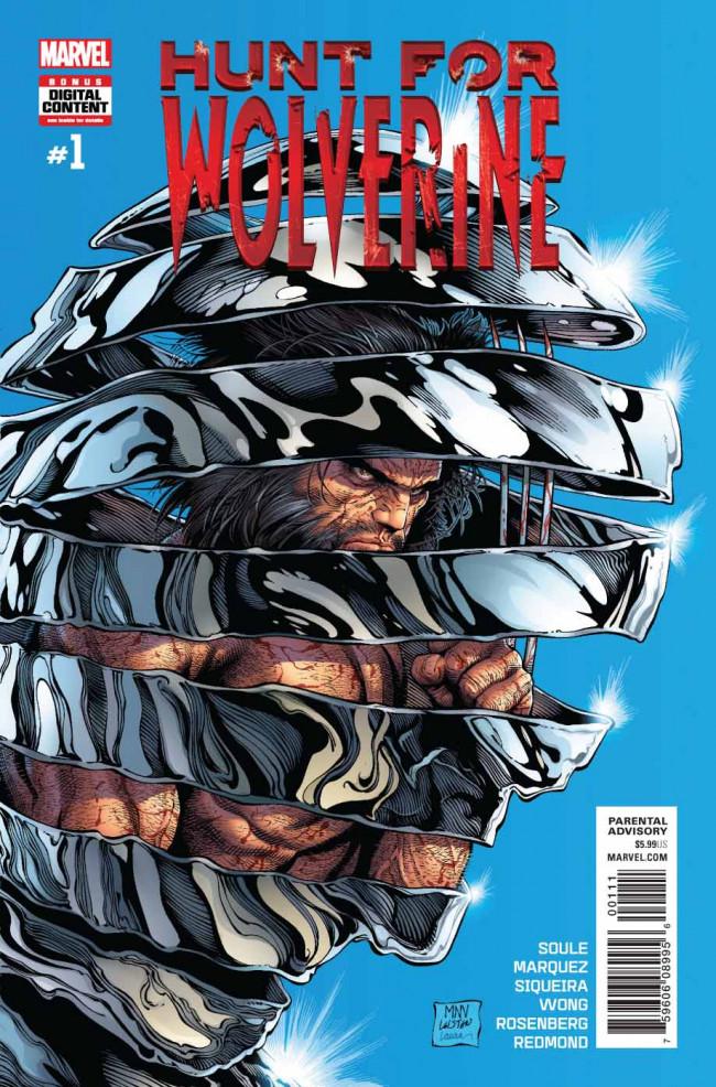 Couverture de Hunt for Wolverine -1- Secrets and Lives