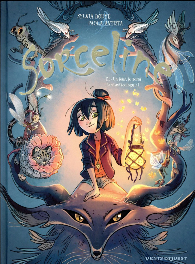 Couverture de Sorceline -1- Un jour je serai fantasticologue !