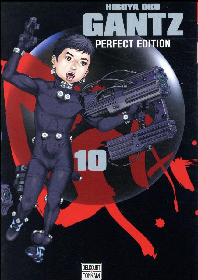 Couverture de Gantz (Perfect Edition) -10- Tome 10