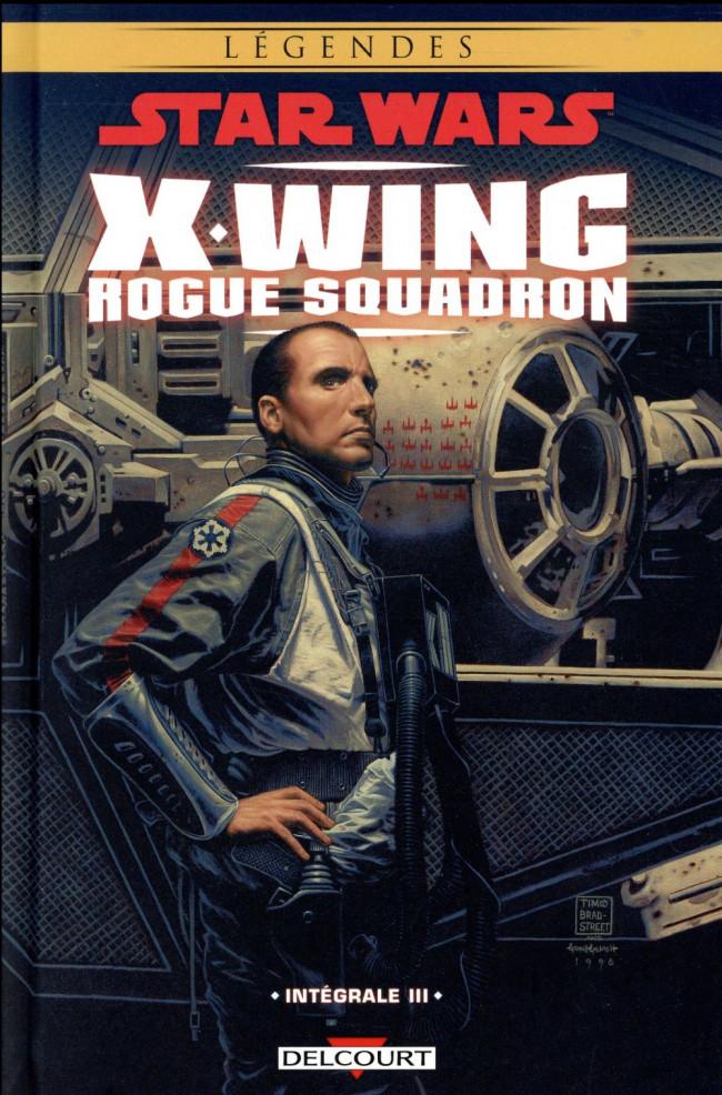 Couverture de Star Wars - X-Wing Rogue Squadron (Delcourt) -INT03- Intégrale III