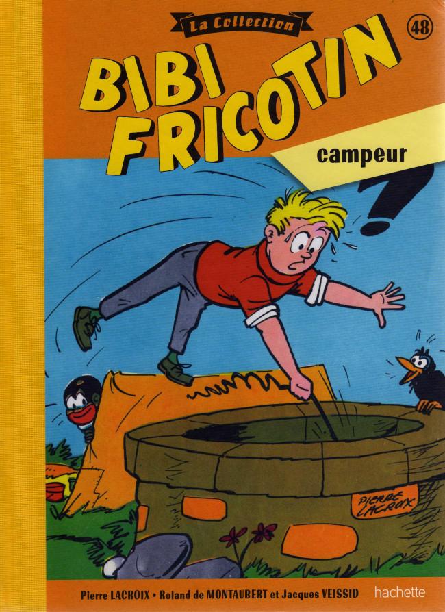 Couverture de Bibi Fricotin (Hachette - la collection) -48- Bibi Friotin campeur