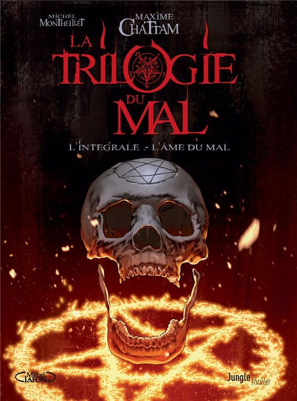 Couverture de La trilogie du mal -INT- L'Intégrale - L'Âme du Mal