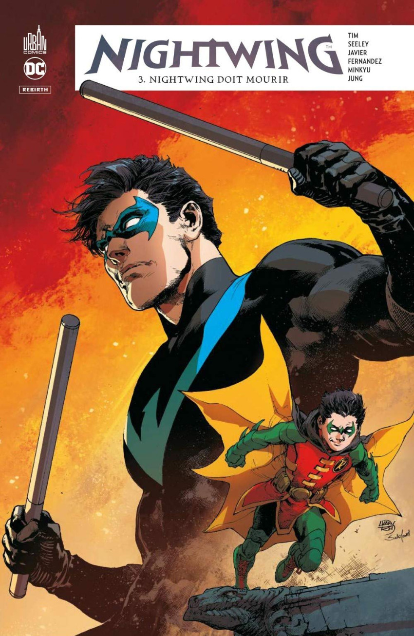 Couverture de Nightwing Rebirth -3- Nightwing doit mourir