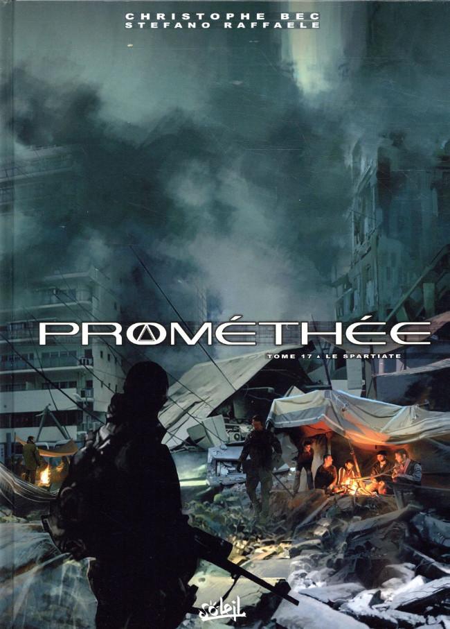 Couverture de Prométhée -17- Le Spartiate