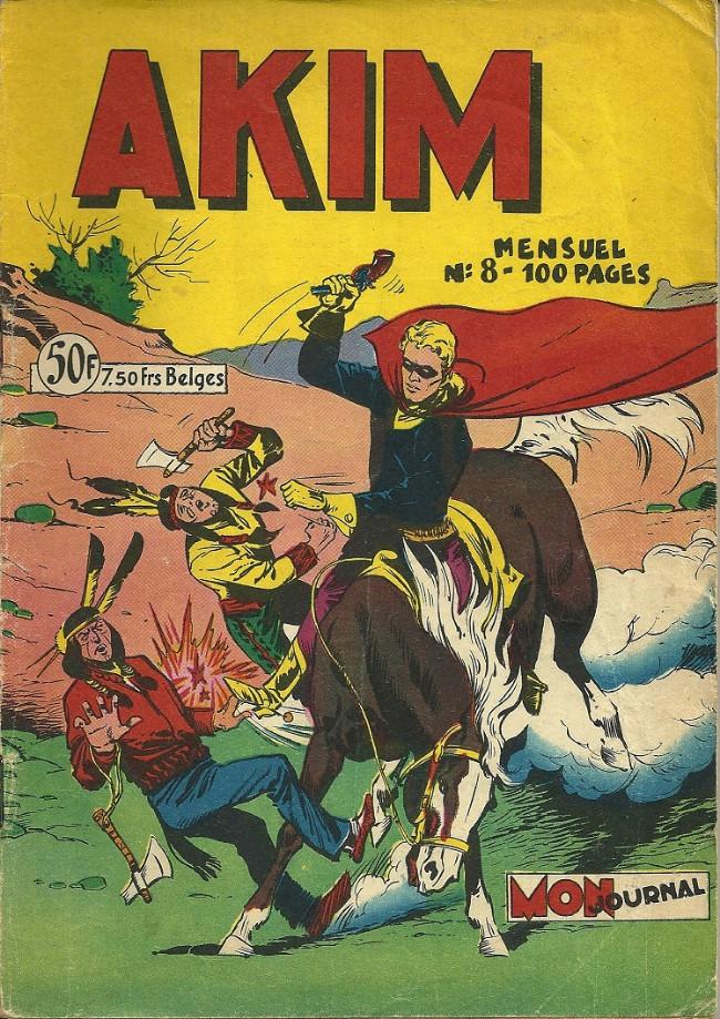 Couverture de Akim (1re série) -8- Parti à la recherche de son amie Rita