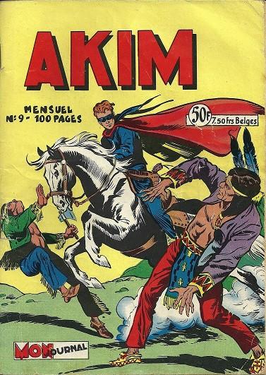 Couverture de Akim (1re série) -9- S'emparer de l'avion de l'inspecteur