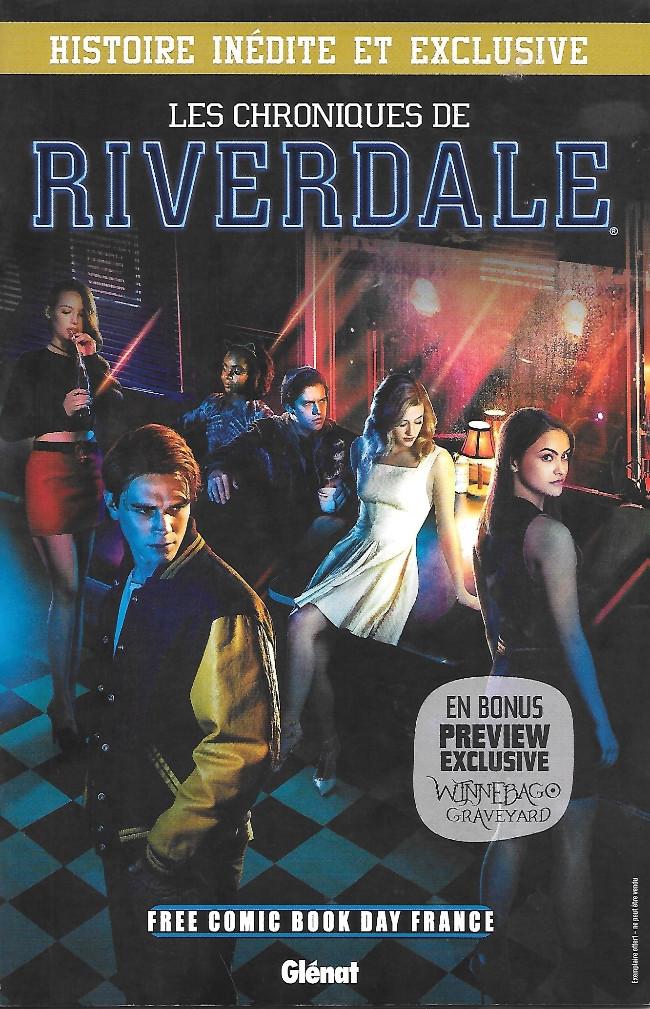 Couverture de Free Comic Book Day 2018 (France) - Les chroniques de Riverdale