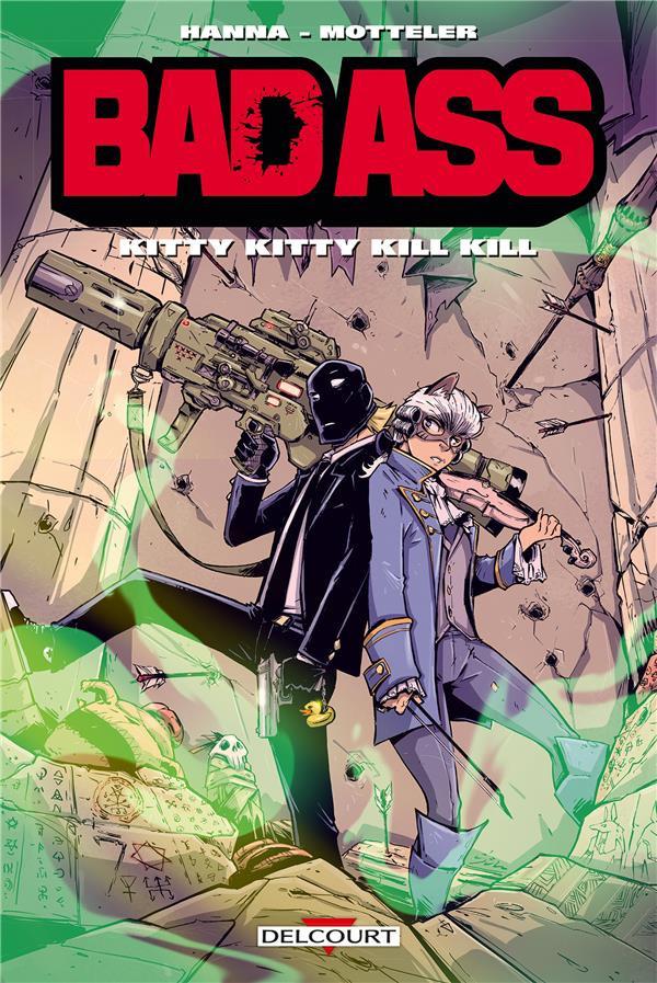 Couverture de Bad Ass -HS2- Kitty Kitty kill kill