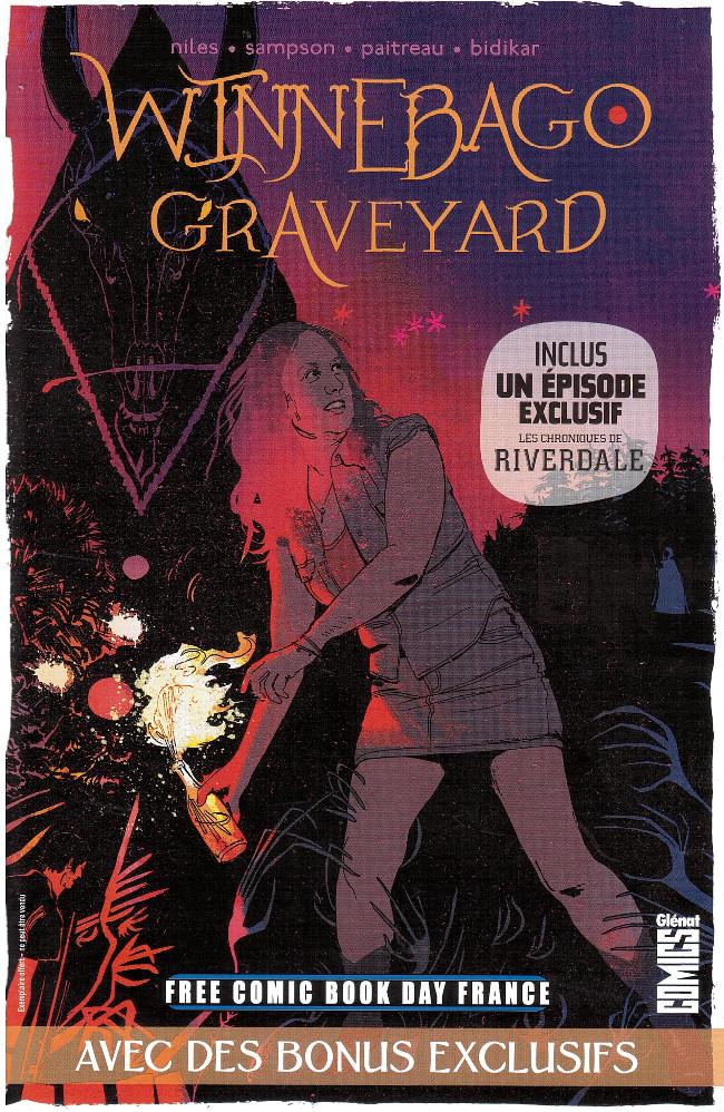 Couverture de Free Comic Book Day 2018 (France) - Winnebago - Graveyard