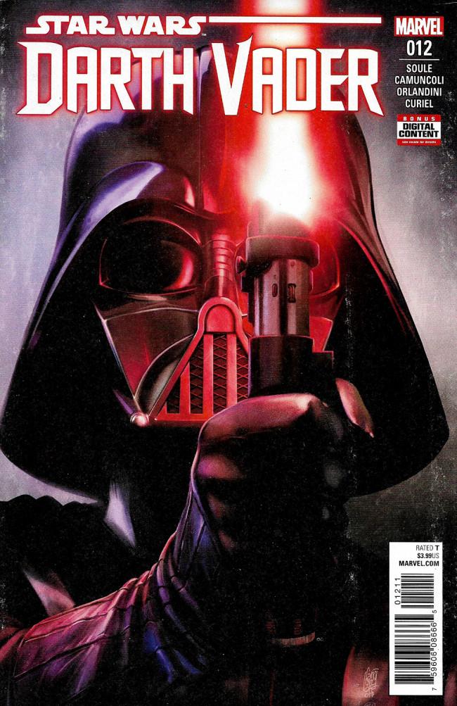 Couverture de Darth Vader (2017) -12- The Rule Of Five Part II