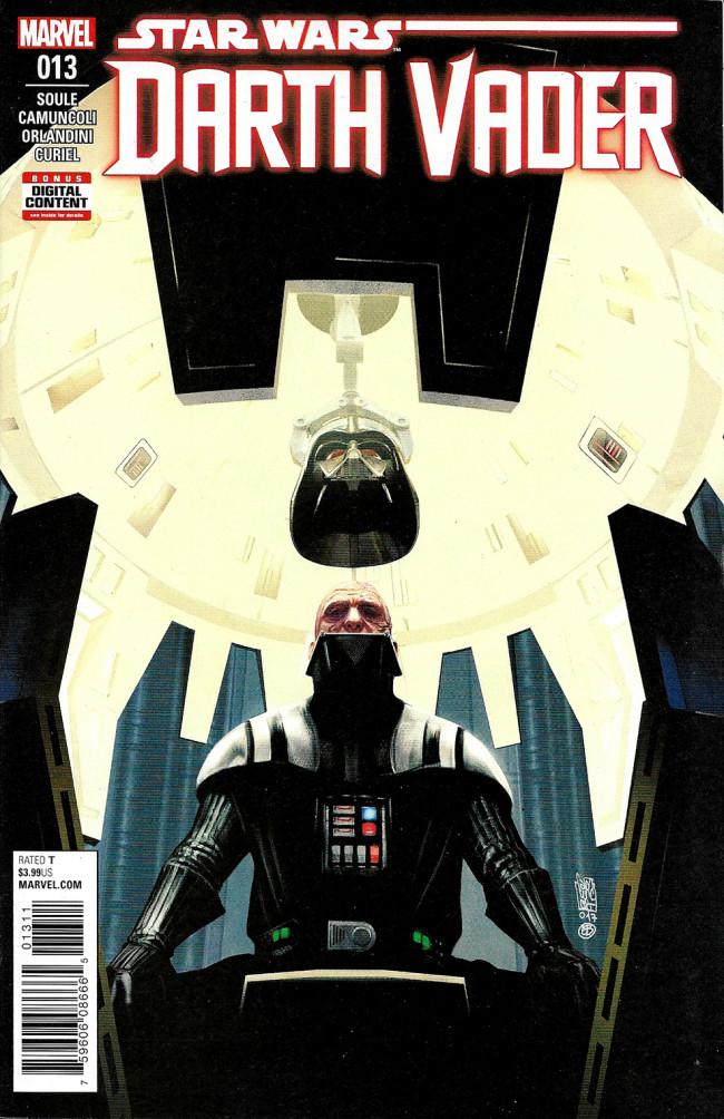 Couverture de Darth Vader (2017) -13- Burning Seas Part I