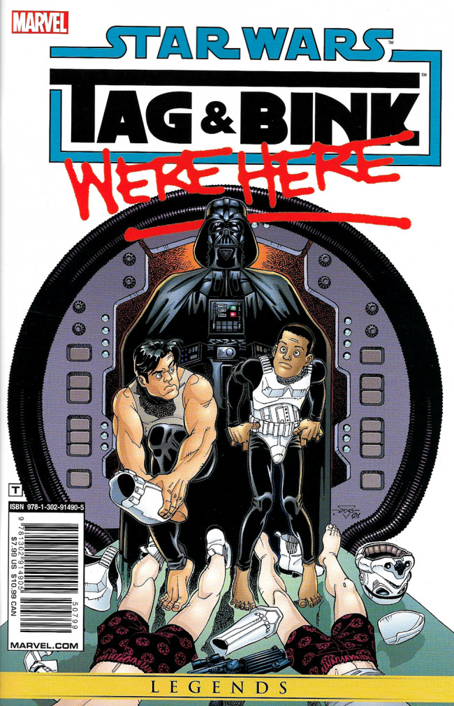 Couverture de Star Wars: Tag & Bink Were Here (2018) - Tome INT
