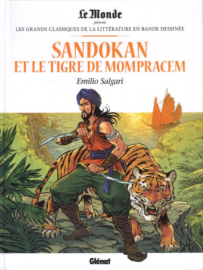 Couverture de Les grands Classiques de la littérature en bande dessinée -35- Sandokan et le Tigre de Monpracem