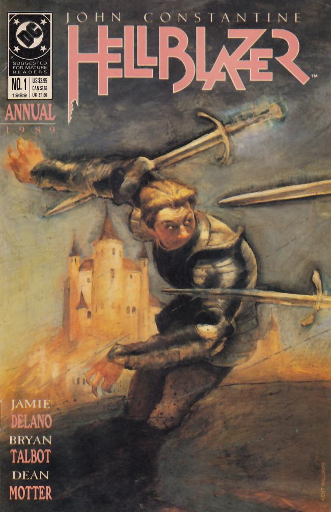 Couverture de Hellblazer (DC comics - 1988) -AN01- The Bloody Saint