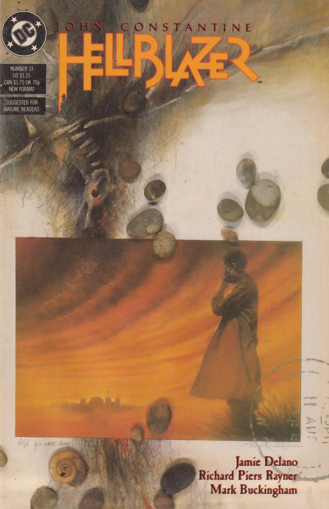 Couverture de Hellblazer (DC comics - 1988) -13- On the beach