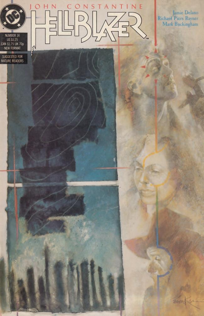 Couverture de Hellblazer (DC comics - 1988) -14- The fear machine part 1: Touching the earth