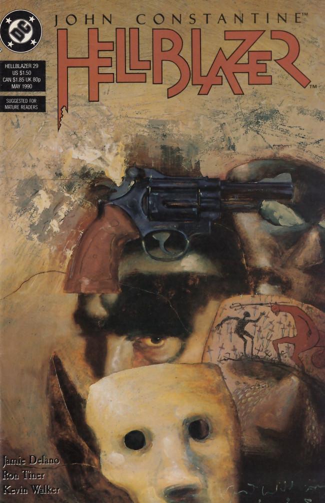 Couverture de Hellblazer (DC comics - 1988) -29- Sick at heart