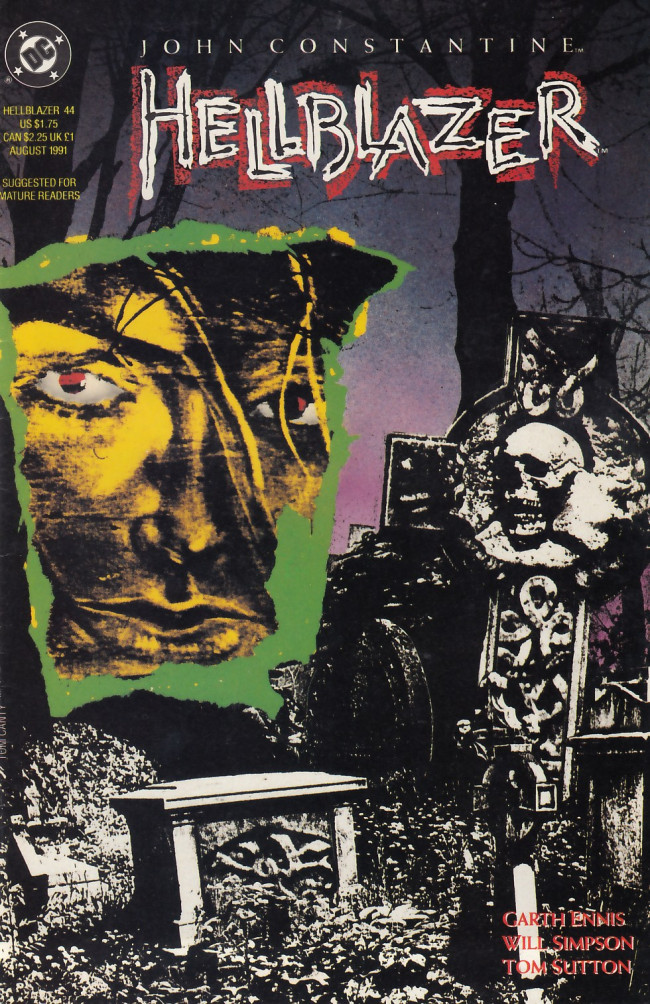 Couverture de Hellblazer (DC comics - 1988) -44- My way