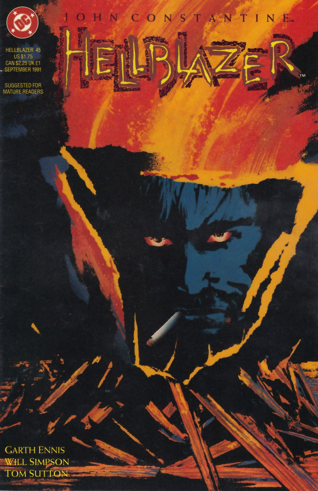 Couverture de Hellblazer (DC comics - 1988) -45- The sting