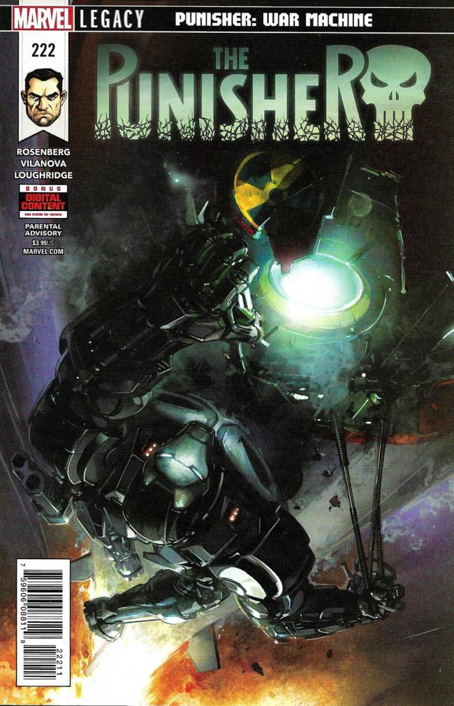Couverture de Punisher (2016) (The) -222- Punisher: War Machine Part 5