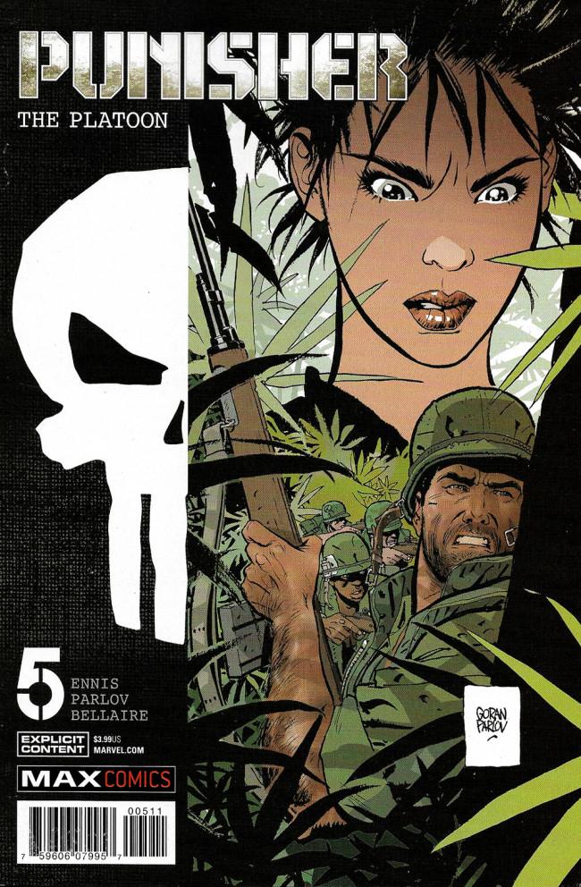 Couverture de Punisher: The Platoon (2017) -5- Deadfall