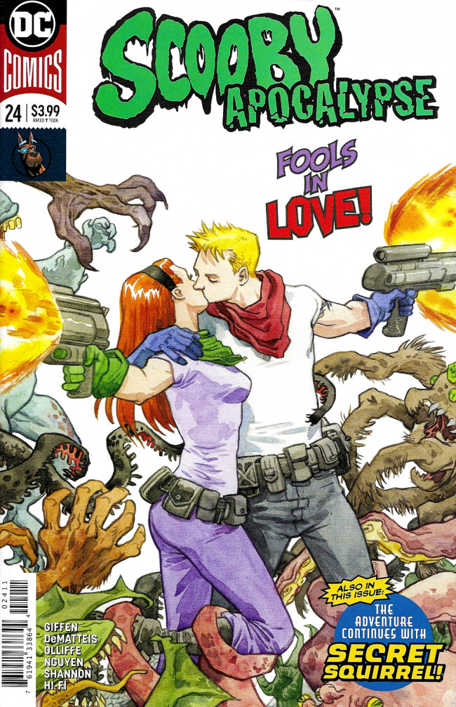 Couverture de Scooby Apocalypse (2016) -24- Prelude To Disaster!