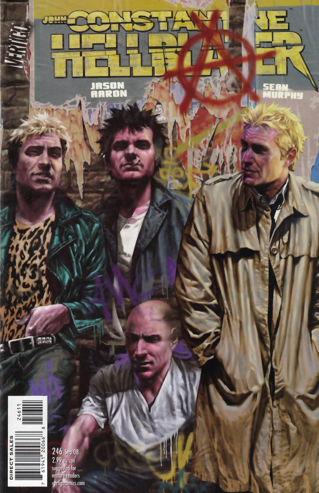 Couverture de Hellblazer (DC comics - 1988) -246- Newcastle Calling, Part Two of Two