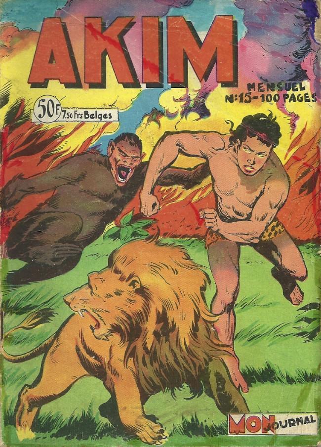 Couverture de Akim (1re série) -15- Akim envoie Bardi l'éléphant