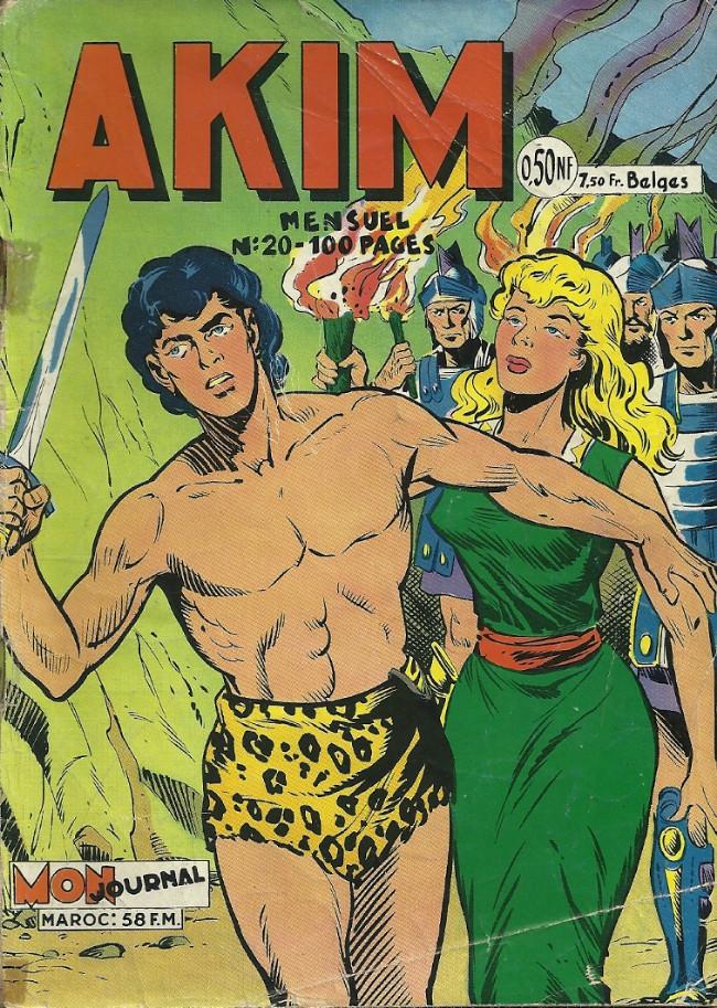 Couverture de Akim (1re série) -20- La princesse Adina règne sur le royaume