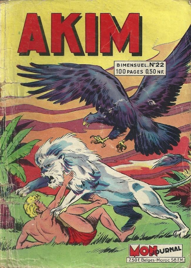 Couverture de Akim (1re série) -22- Akim est capturé