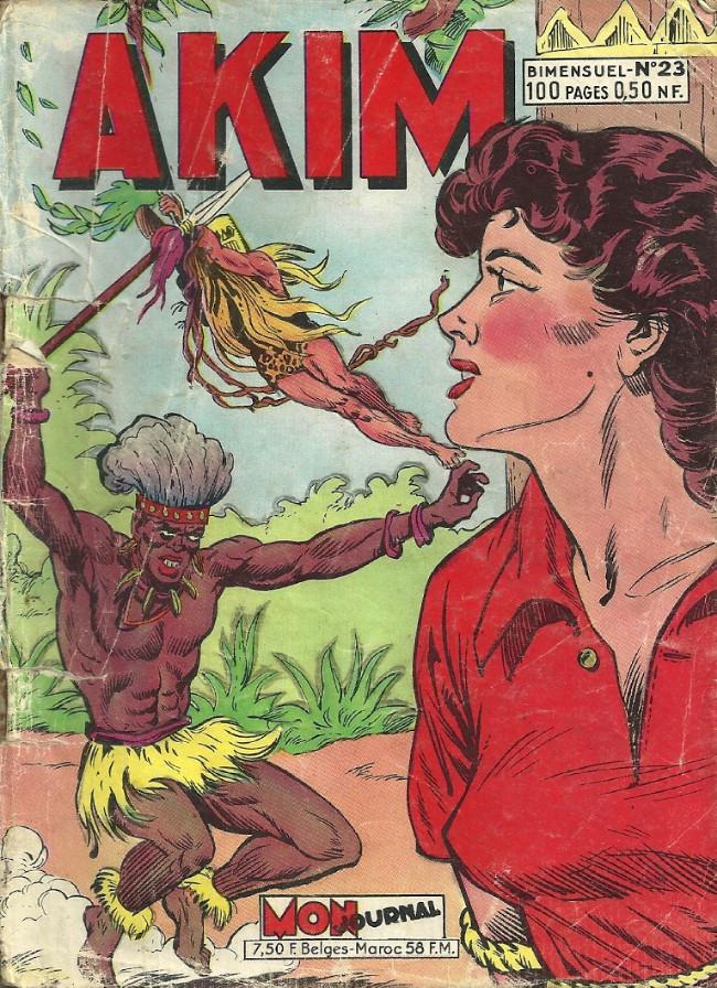 Couverture de Akim (1re série) -23- Akim vivait heureux
