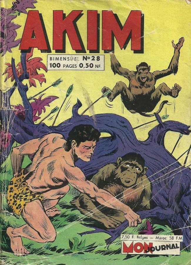 Couverture de Akim (1re série) -28- Les idoles de pierre