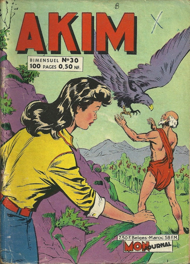 Couverture de Akim (1re série) -30- Le lac des serpents