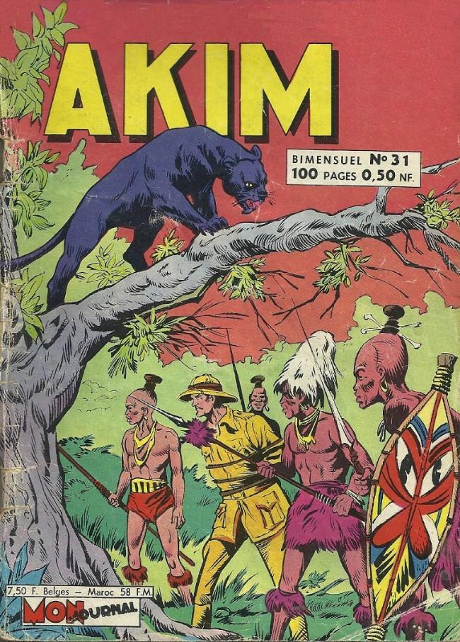 Couverture de Akim (1re série) -31- L'ermite du mont solitaire