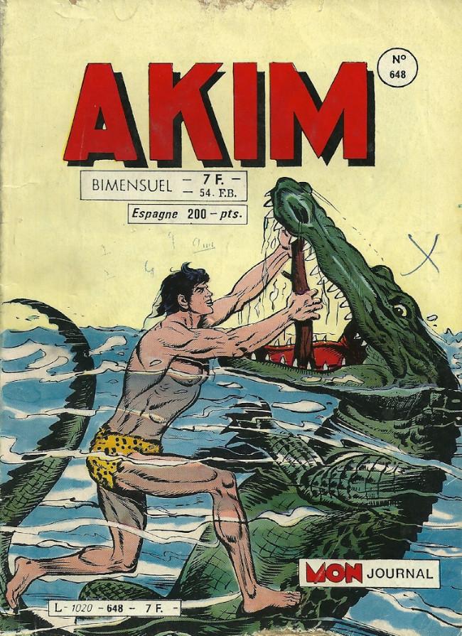 Couverture de Akim (1re série) -648- Le grand secret