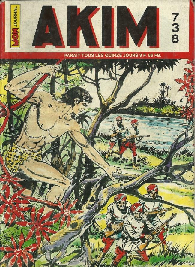 Couverture de Akim (1re série) -738- Les avions rouges