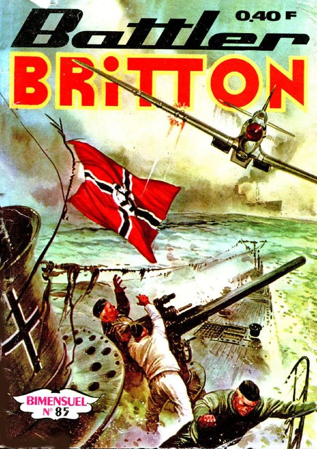 Couverture de Battler Britton -85- Le miroir de la trahison
