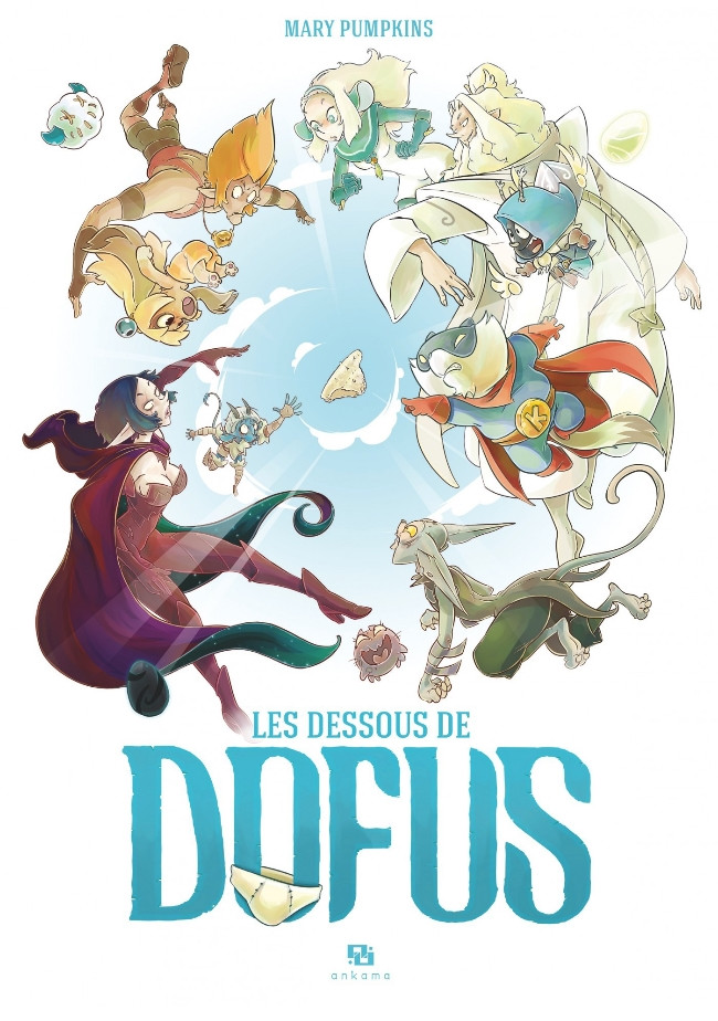 Couverture de Dofus -HS6- Les dessous de Dofus
