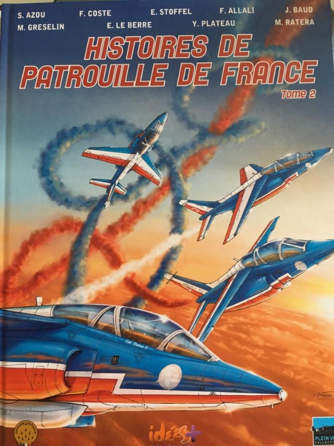 Couverture de Histoires de patrouille de France -2- Tome 2