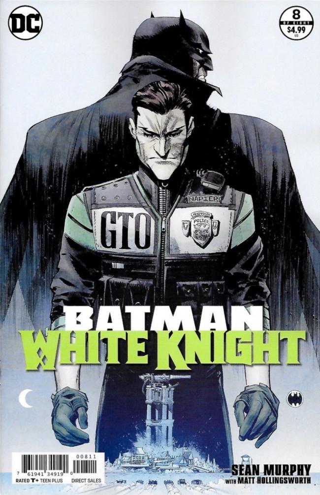 Couverture de Batman: White Knight (2017) -8- Issue 8