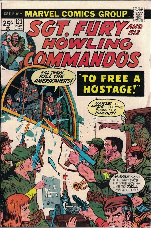 Couverture de Sgt. Fury and his Howling Commandos (Marvel - 1963) -123- To Free a Hostage !