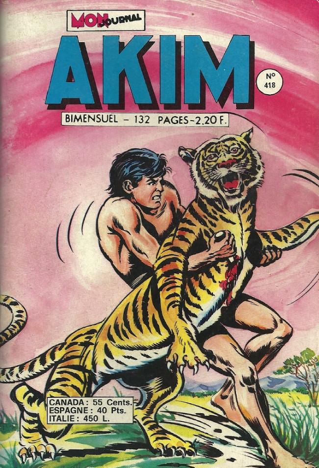 Couverture de Akim (1re série) -418- Dramatique poursuite