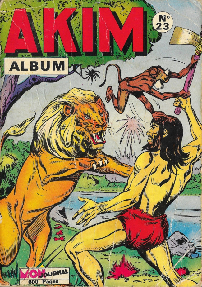 Couverture de Akim (1re série) -Rec023- Album N°23 (du n°140 au n°145)