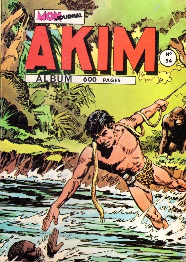 Couverture de Akim (1re série) -Rec054- Album N°54 (du n°(327 au n°332)