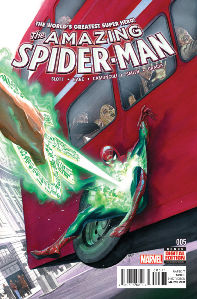 Couverture de Amazing Spider-Man (The) (2015) -5- Set in Stone