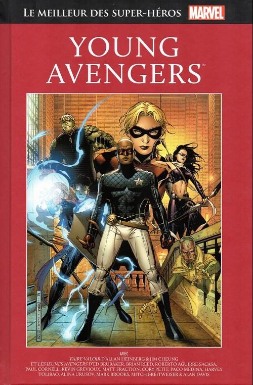 Couverture de Marvel Comics : Le meilleur des Super-Héros - La collection (Hachette) -60- Young avengers