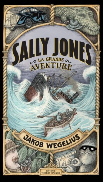 Couverture de Sally Jones, la grande aventure