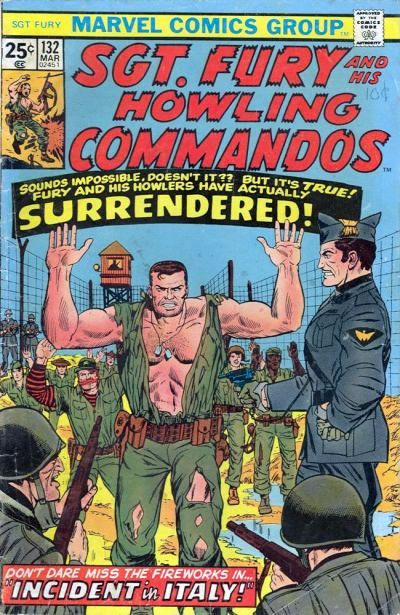 Couverture de Sgt. Fury and his Howling Commandos (Marvel - 1963) -132-